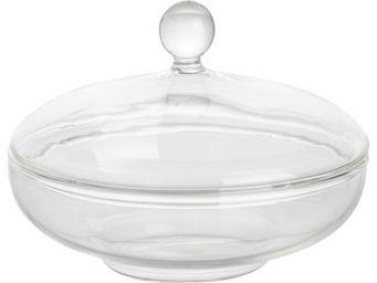 Athezza - compotier glass d12,2xh9cm - Compotier