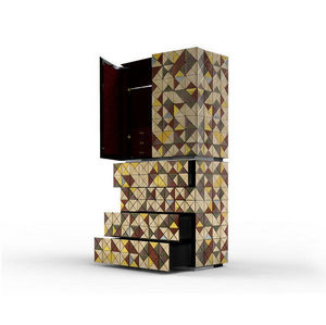 BOCA DO LOBO - pixel anodized - Cabinet