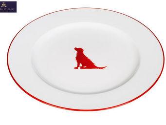 In�s de Nicola� - chasse - Assiette Plate