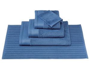 BLANC CERISE - serviette de toilette - coton peigné 600 g/m² - un - Tapis De Bain
