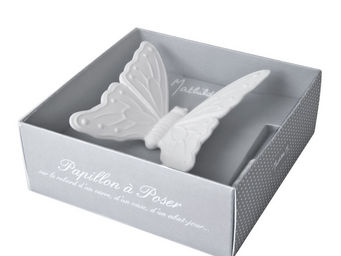 Mathilde M - grand papillon, parfum clair de lune - D�coration De Table