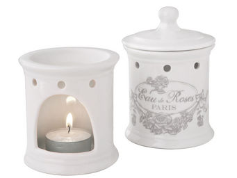 Mathilde M - brûle-parfum eau de roses - Brûle Parfum