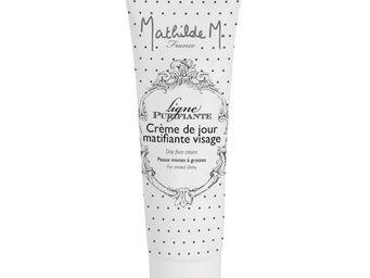 Mathilde M - cr�me de jour visage 50 ml, peaux mixtes � grasses - Cr�me De Soin