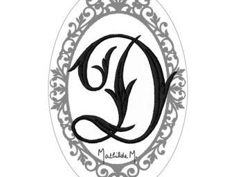 Mathilde M - savon alphabet monogramme d - Savon