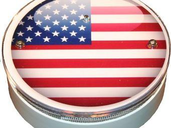 AVISSUR - américan flag - Alarme Détecteur De Fumée