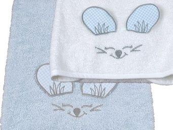 SIRETEX - SENSEI - serviette de toilette enfant 50x90cm en forme de s - Serviette De Toilette Enfant