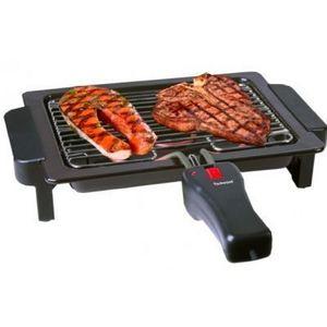 TECHWOOD - barbecue grille duo avec poignée pour grille - Barbecue Électrique