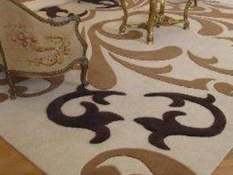 Moquettes A3C CARPETS - tapis hand tuft dessin a3c a2196 - Tapis Sur Mesure