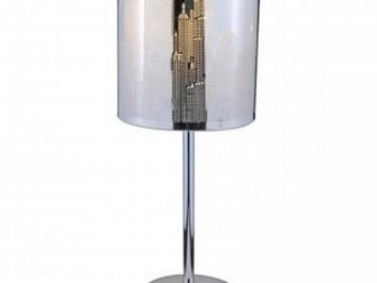 Up Trade - lampe en inox new york city - Lampe De Chevet