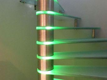 TRESCALINI - lumineux - Escalier H�lico�dal