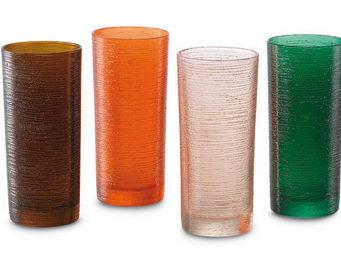 Greggio - set of 4 mixed tumblers art. 19880125 - Verre � Cocktail