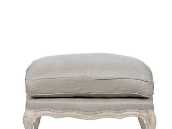 BLANC D'IVOIRE - victor - Footstool