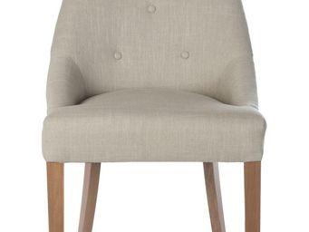 BLANC D'IVOIRE - edward beige - Chaise