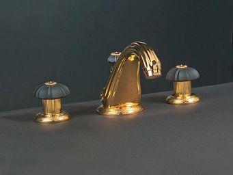 Cristal Et Bronze - bonroche - Mélangeur Bain 3 Trous