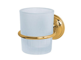 Cristal Et Bronze - perl� - Porte Verre � Dent