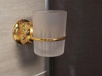 Cristal Et Bronze - versailles boutons - Porte Verre À Dent