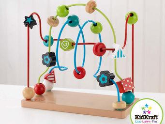 KidKraft - boulier labyrinthe en bois avec perles 30x15x28cm - Jeu D'�veil