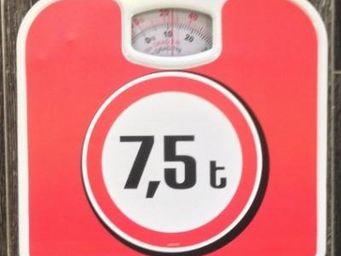 Fomax - pèse-personne 7,5 tonnes - Pèse Personne
