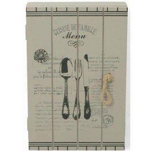 FAYE - boîte à clés cuisine de famille - Armoire À Clefs