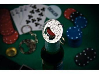 INVOTIS - ouvre bouteille jeton de poker - D�capsuleur