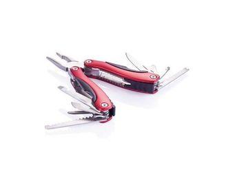 XD Design - outil multifonctions solide rouge - Couteau De Poche