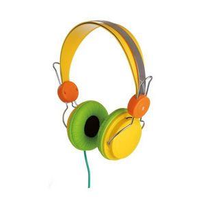 La Chaise Longue - casque stéréo street jaune - Casque Audio