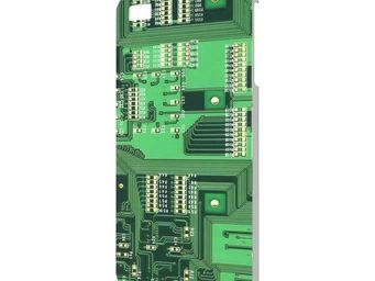 Extreme design - protection iphone 4 circuit imprimé - Coque De Téléphone Portable
