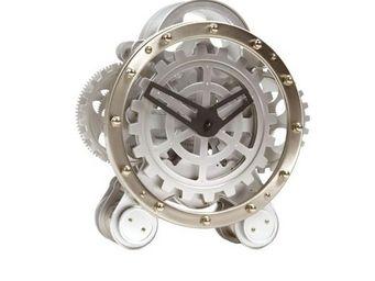 INVOTIS - horloge engrenages visibles - Horloge � Poser