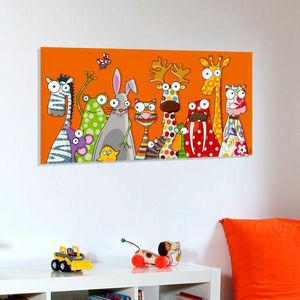 SERIE GOLO - les animaux - Tableau Décoratif Enfant