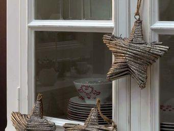 Interior's - argentée noël enchanté - Etoile De Noël