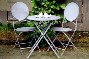 DECOSTARS -  - Table De Jardin Ronde