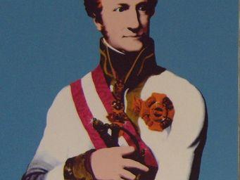 PROVENCE ET FILS - portrait gerald pop art mouvence - Portrait