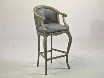 PROVENCE ET FILS - chaise haute tsarine avec accoudoirs (pour table h - Chaise Haute De Bar