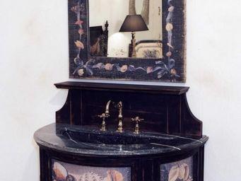PROVENCE ET FILS - ensemble de salle de bain coquillages / d�cors s�r - Meuble Vasque
