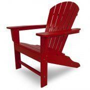 Casa Bruno - south beach adirondack rojo - Chaise De Jardin