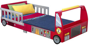 KidKraft - lit pour enfant pompier - Lit Enfant