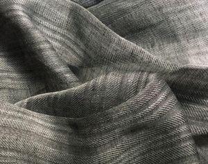 Bisson Bruneel - dumet stone xl gris/noir - Tissu D'ameublement