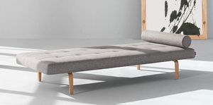 INNOVATION - napper méridienne lit innovation living gris clair - Banquette Lit