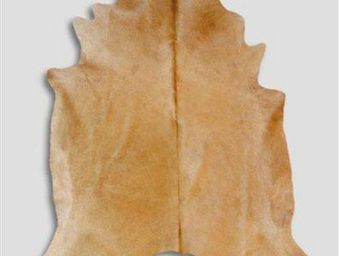 WHITE LABEL - tapis de peau de vache beige naturel - Peau De Vache