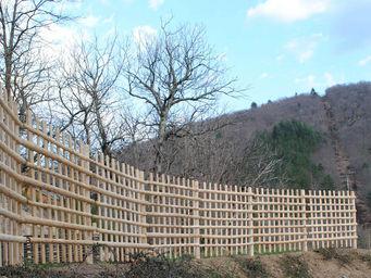 Atelier CHATERSèN - palissades écologiques - Clôture Pleine