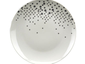 Interior's - assiette plate jeu d'ombres - Assiette Plate