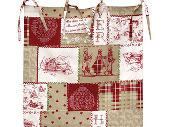 Interior's - cantonni�re fa�on patchwork - Rideaux � Lacettes