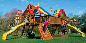RAINBOW PLAY SYSTEMS -  - Aire De Jeux
