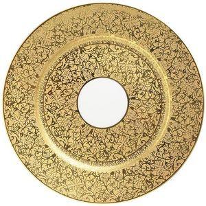Raynaud - tolede or - Assiette De Pr�sentation