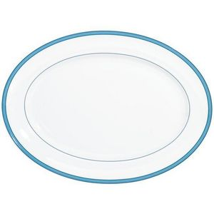 Raynaud - tropic bleu - Plat Ovale