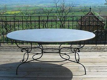 Replicata -  - Table De Jardin Ovale