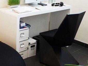 VONDOM - chaise design vertex - Chaise De Bureau