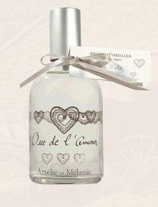 Amelie et Melanie - que de l'amour - Brume D'oreiller