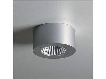 ASTRO LIGHTING - plafonnier samos round led aluminium anodis� - Spot Led