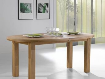 Ateliers De Langres - whitney - Table De Repas Ovale
